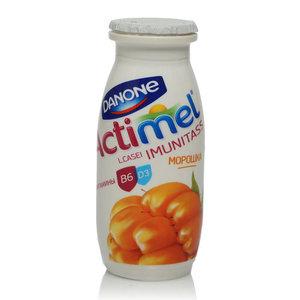 Actimel (актимель) с морошкой и ежевикой 2,5% ТМ Danon (Данон)