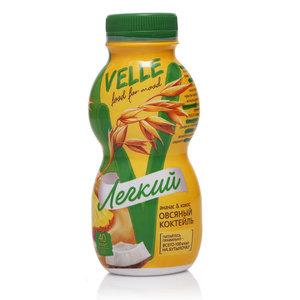 Коктейль овсяный ананас-кокос ТМ Velle (Велле)