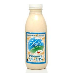 Ряженка 3,9-4,3% ТМ Живое молоко