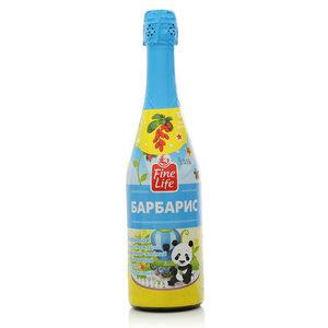 Напиток сокосодержащий фруктово-ягодный газированный яблочно-барбарисовый Барбарис ТМ Fine Life (Файн Лайф)