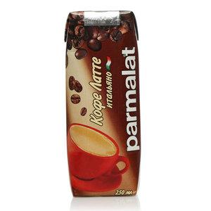Коктейль молочный Кофе латте Итальяно 2,3% ТМ Parmalat (Пармалат) ультрапастеризованный