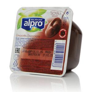 Десерт соевый шоколадный ТМ Alpro (Альпро) обогащенный кальцием и витаминами