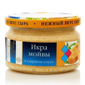 Икра мойвы в сырном соусе ТМ аʾМоре