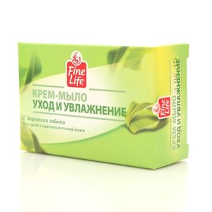 Крем-мыло Уход и увлажнение ТМ Fine Life (Файн Лайф)