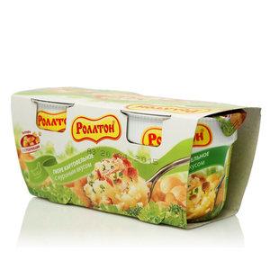 Пюре картофельное с куриным вкусом ТМ Роллтон 2*40г