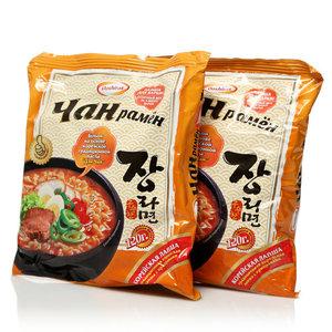 Лапша корейская с приправами Чанрамён 2*120г ТМ Doshirak (Доширак)