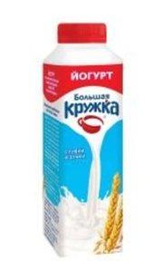 Йогурт 2,0% сливки со злаками ТМ Большая Кружка