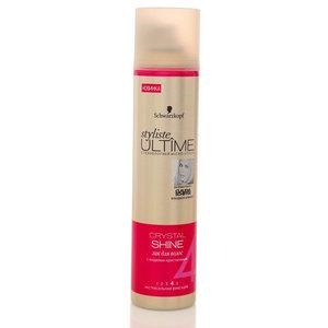 Лак для волос Crystal Shine экстрасильная фиксация ТМ Styliste Ultime (Стилист Ультиме)