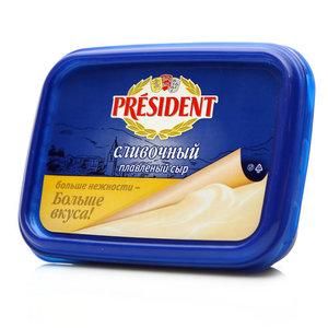 Сыр плавленый сливочный ТМ President (Президент) 45%