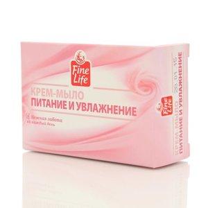Крем-мыло Питание и увлажнение ТМ Fine Life (Файн Лайф)