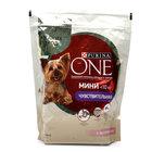 Корм для взрослых собак мелких пород с чувствительным пищеварением с лососем и рисом ТМ Purina One (Пурина Уан)