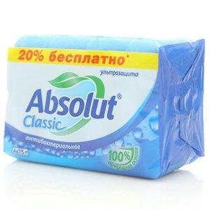Мыло антибактериальное Classic ТМ Absolut (Абсолют), 4*75г