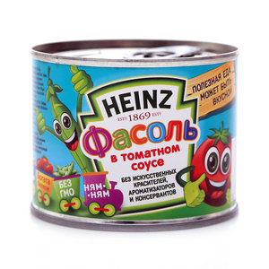 Фасоль в томатном соусе ТМ Heinz (Хайнц)