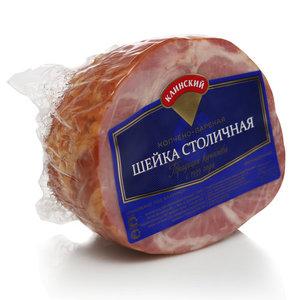 Шейка Столичная копчено-вареная ТМ Клинский