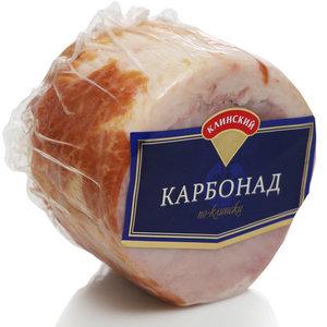 Карбонад копчёно-варёный ТМ Клинский
