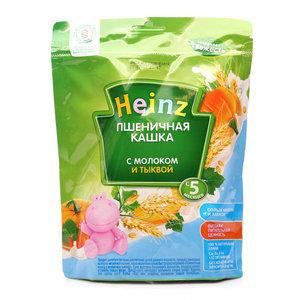 Каша Heinz пшеничная с молоком и тыквой с 5-ти месяцев ТМ Heinz (Хайнц)