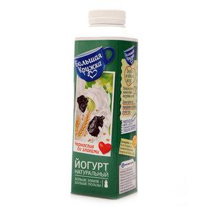 Йогурт с черносливом и злаками 2,0% ТМ Большая Кружка