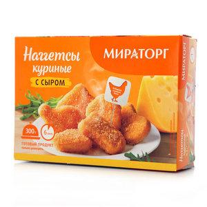 Наггетсы куриные с сыром ТМ Мираторг
