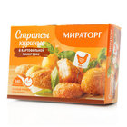 Стрипсы куриные в картофельной панировке ТМ Мираторг