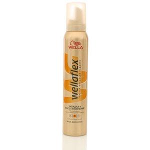 Мусс для волос укладка и восстановление ТМ WellaFlex (Веллафлекс)