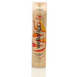Лак для волос для горячей укладки ТМ WellaFlex (Веллафлекс)