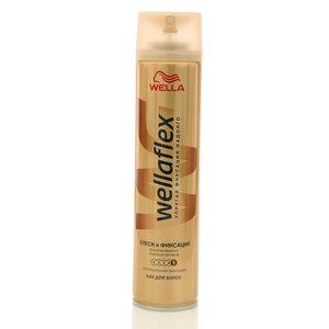Лак для волос Блеск и Фиксация Shiny Hold ТМ WellaFlex (Веллафлекс)