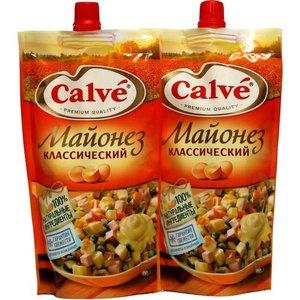 Майонез классический 50% ТМ Calve (Кальве), 2*200г