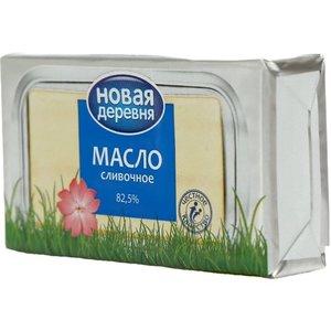 Масло сливочное традиционное 82,5% ТМ Новая деревня