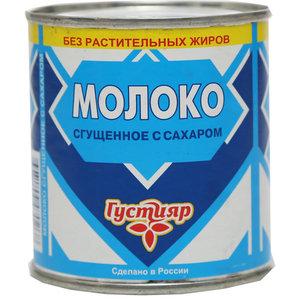 Молоко цельное сгущенное с сахаром 8,5% ТМ Густияр