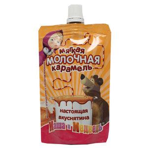 Молоко сгущенное с сахаром вареное  8,5 % ТМ Маша и Медведь