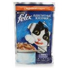 Корм полнорационный для взрослых кошек, с индейкой ТМ Felix (Феликс)