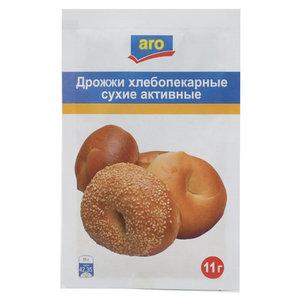 Дрожжи хлебопекарные сухие активные фасованные ТМ Aro (Аро)