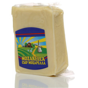 Сыр Моцарелла полутвердый 40%