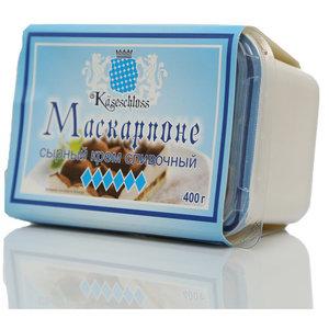 Сырный крем Сливочный Маскарпоне ТМ Kaseschloss (Кезешлосс) 45%